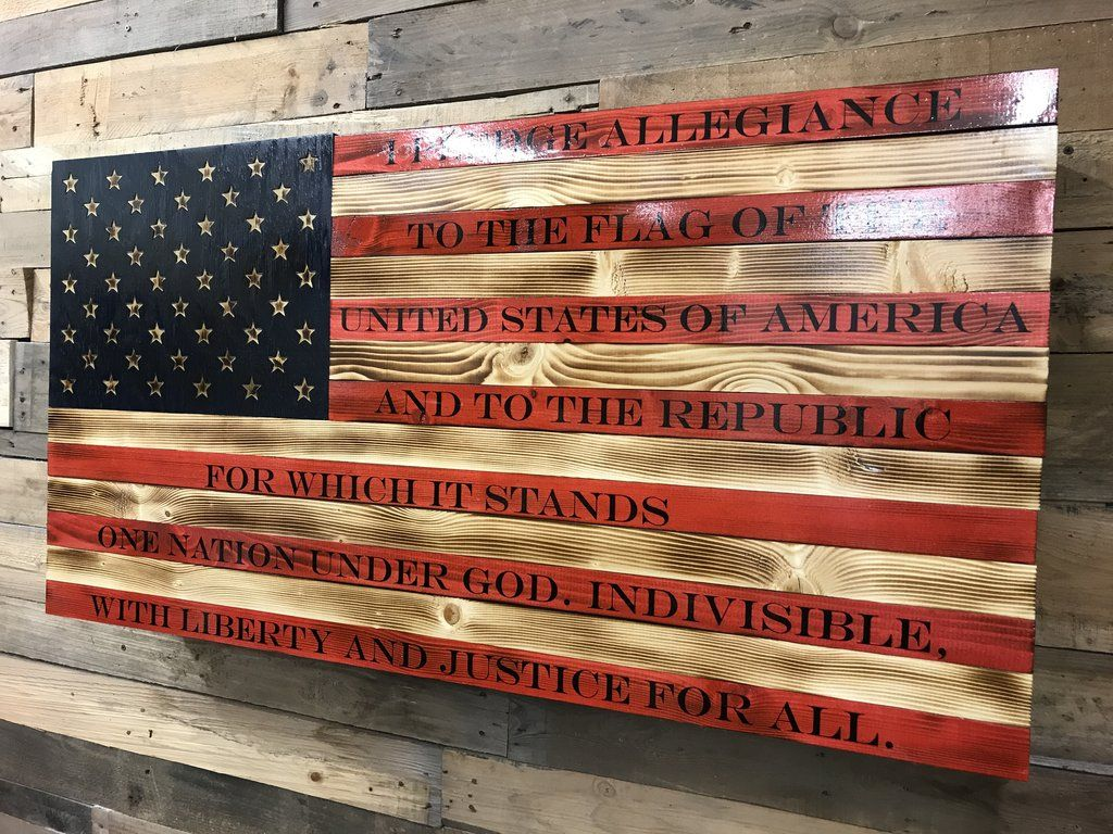 ed96e069a2d Pallet Wood · Pallet Ideas · American Rustic Flag Slider The American Flag  represents life