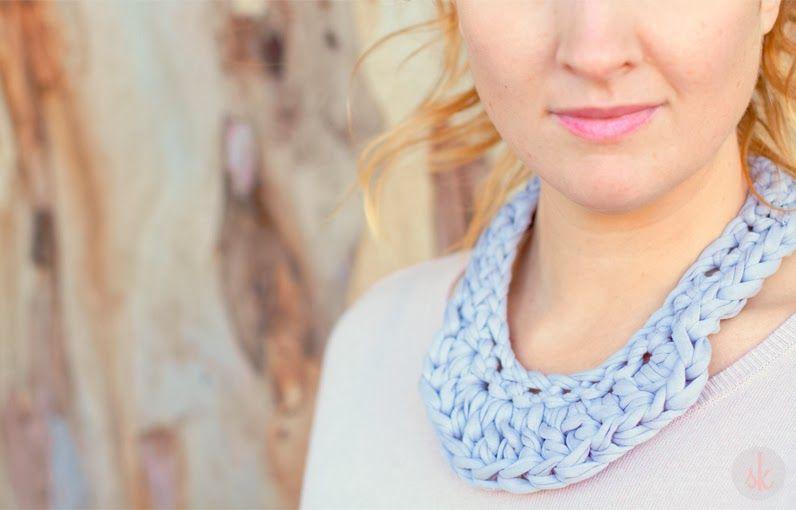 SusiMiu | Patrón de Collar de Ganchillo XXL (dos modelos ...
