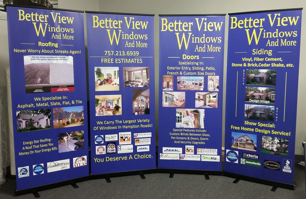 better view windows vintage betterview windows and more banner bannerstands vb virginiabeach hamptonroads tidewater speedprovb betterview