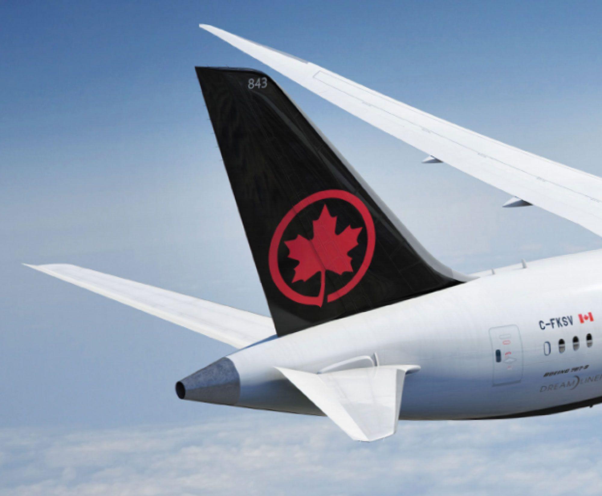 New Maple Leaf For Air Canada By Winkreative Via Logolounge Canada Air Canada History