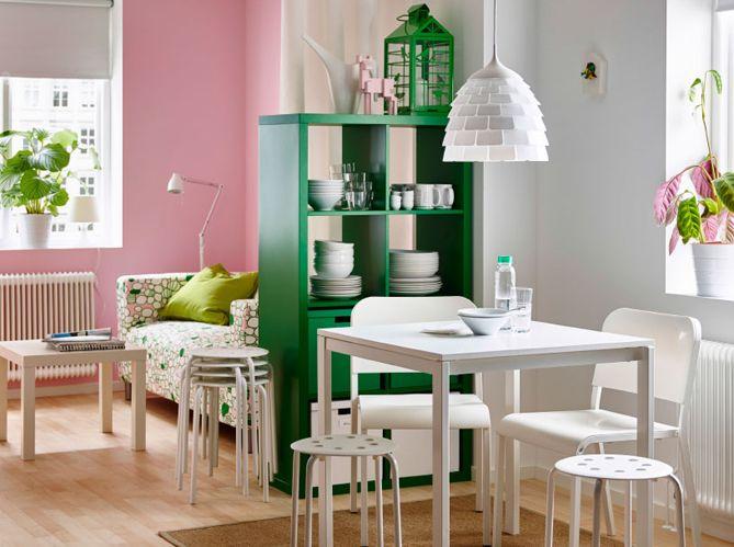 La cuisine semi-ouverte via un meuble de rangement | Cuisine ...