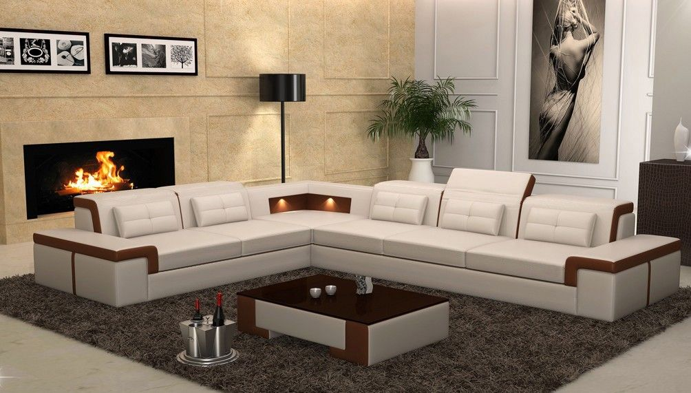 Monaco Sectional Sofa From Opulent Items IHSO01265