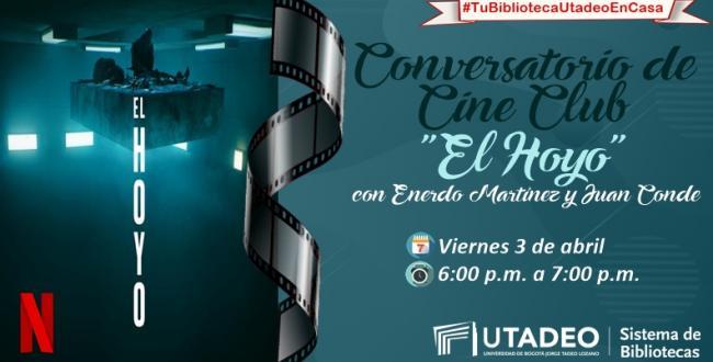 """TuBibliotecaUtadeoEnCasa Conversatorio de Cine Club """"El"""