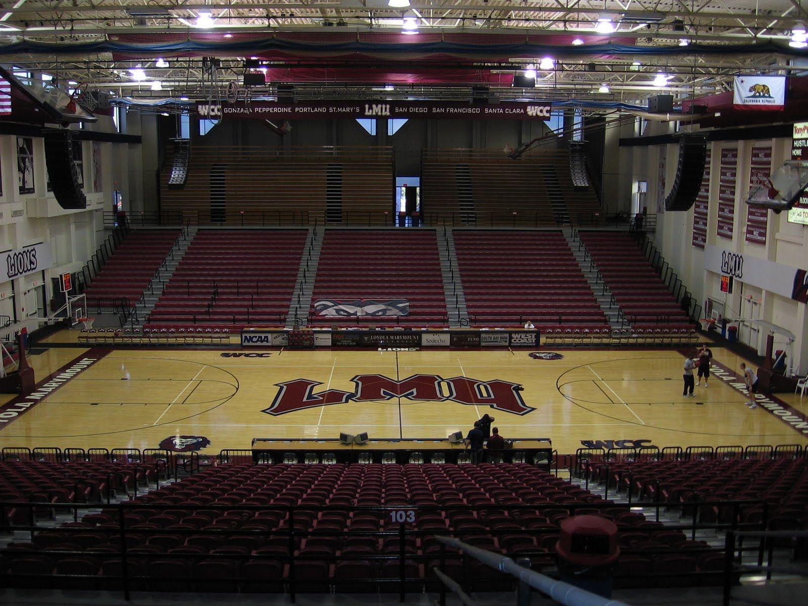 Gersten Pavilion Loyola Marymount University California West Coast Conference Loyola Marymount University College Basketball