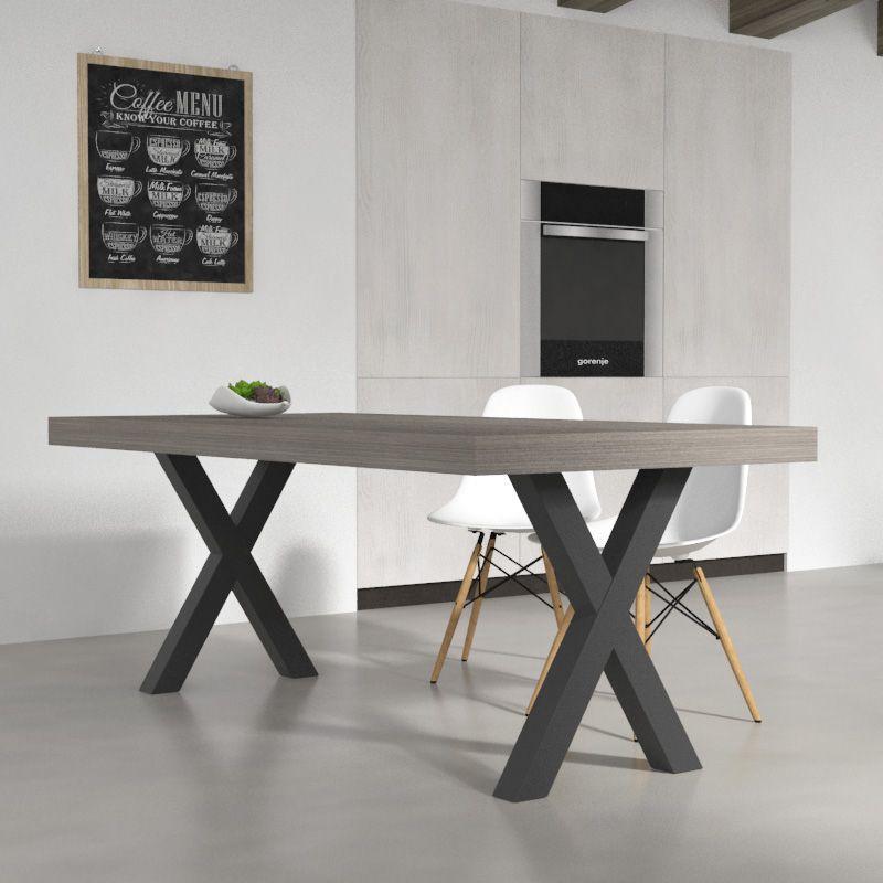 Tavolo da cucina Deryck | Arredare in stile industriale | Pinterest