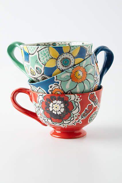 Elka Mug Mugs Home Glass Kitchen