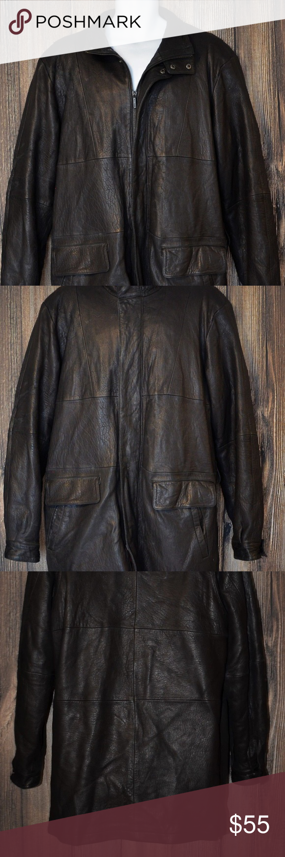 Wilsons Leather Thinsulate Ultra Insulated Jacket Men S Wilson S Leather Pelle Studio Leather Jacket Size Large Tall Insulated Jackets Wilsons Leather Jackets [ 1740 x 580 Pixel ]