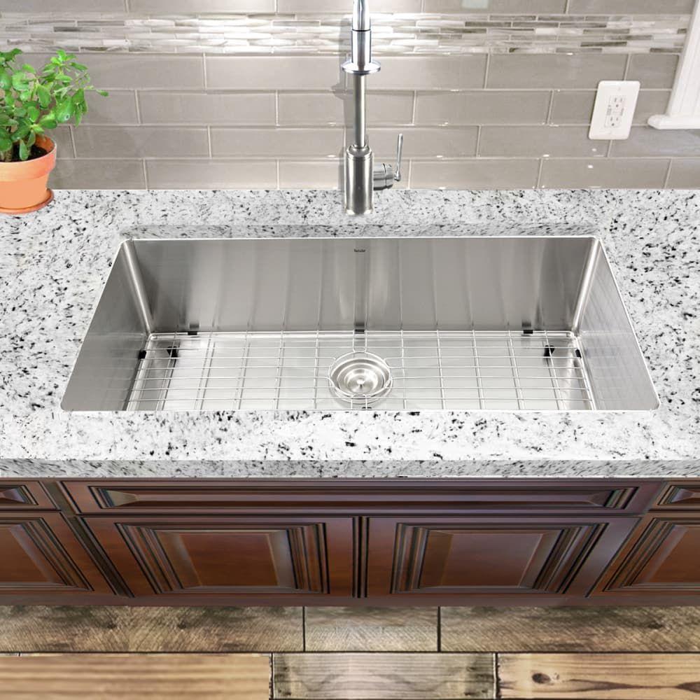 Kichae 30 Inch Matte Black Farmhouse Sink B30w 20d 9h Black Stainless Steel Kichae In 2020 Black Farmhouse Sink Farmhouse Sink Sink