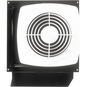 Broan 180 Cfm Through The Wall Exhaust Fan With On Off Switch White Bathroom Exhaust Fan Wall Fans Kitchen Exhaust