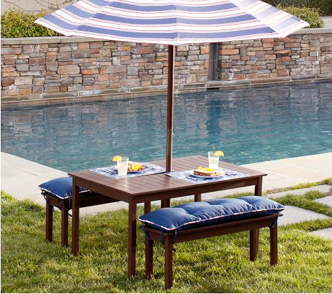 Pottery Barn Kids Summertime Giveway Kids Outdoor Furniture