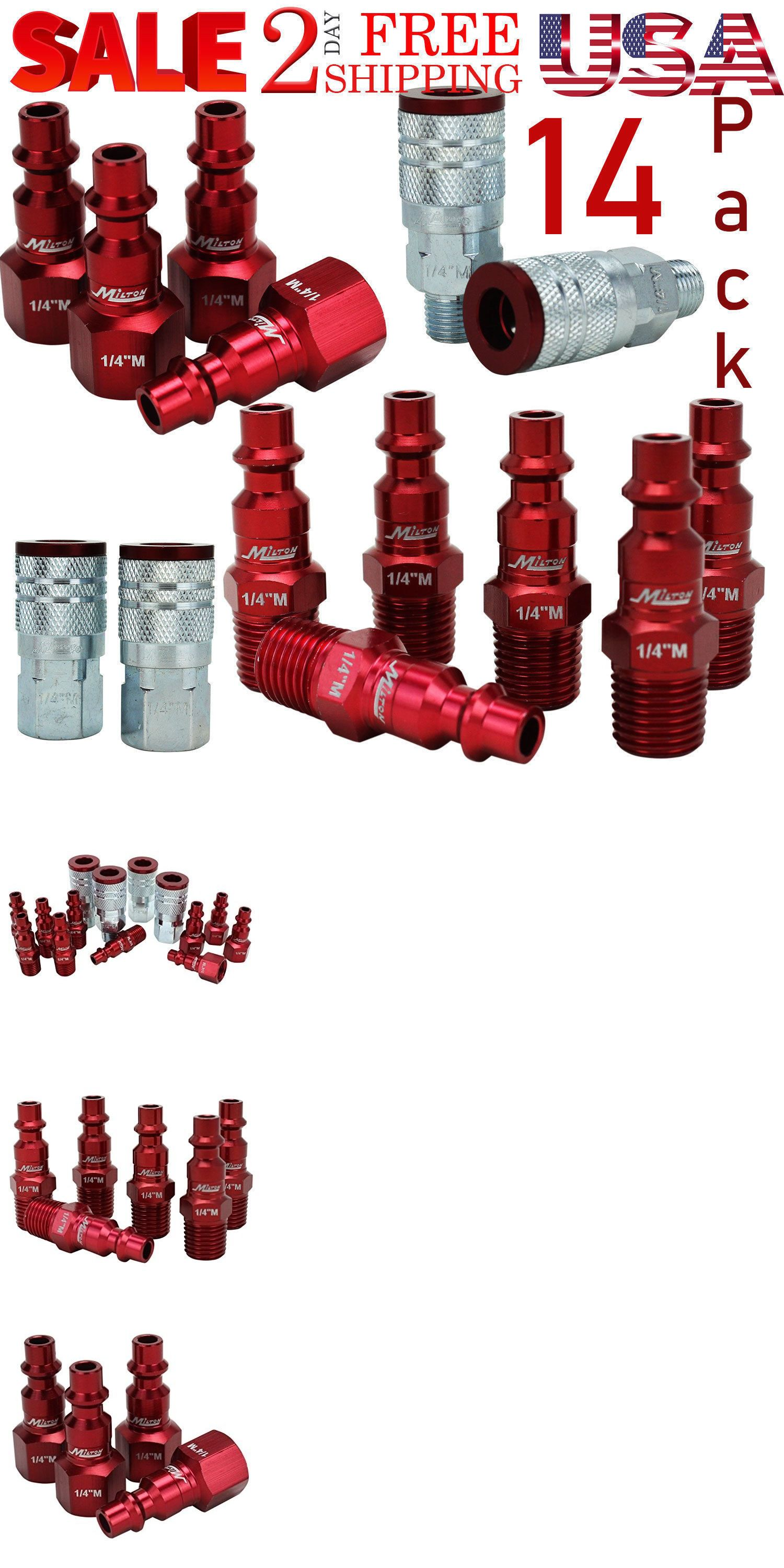 Parts and Accessories 42247 Red Coupler Plug Kit Style