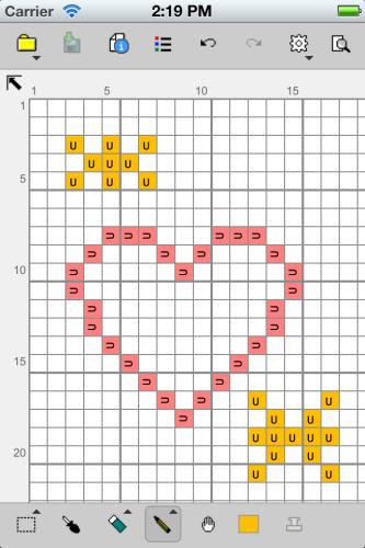 Stitchsketch For Cross Stitch Knitting Pattern Pixel Art