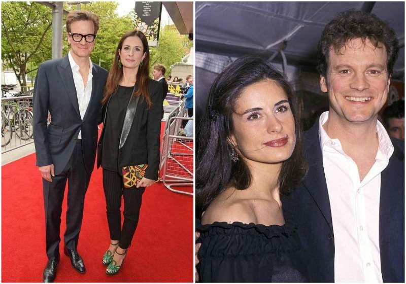 Colin Firth's spouse L...