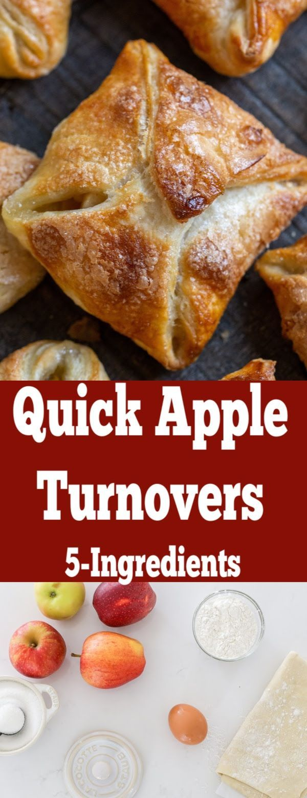 Quick Apple Turnovers (Only 5 Ingredients) - Momsdish