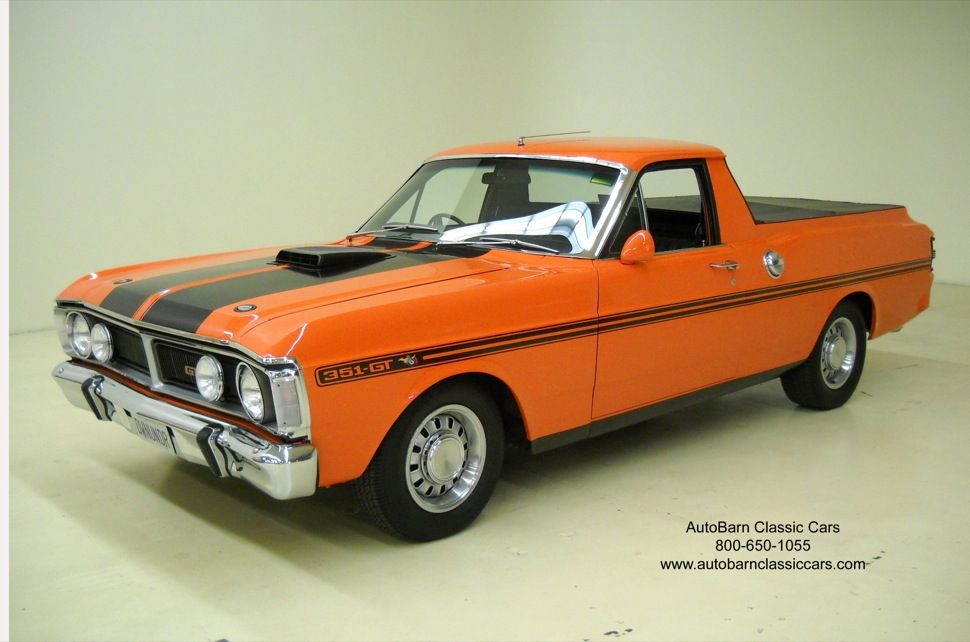 1971 Ford Falcon Ute Pick Up Australian Ford Falcon Classic