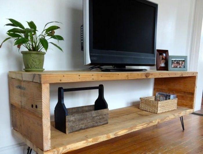 Fabriquer Un Meuble Tv Instructions Et Modeles Diy Fabriquer Meuble Tv Idee Meuble Tv Deco Meuble Tv