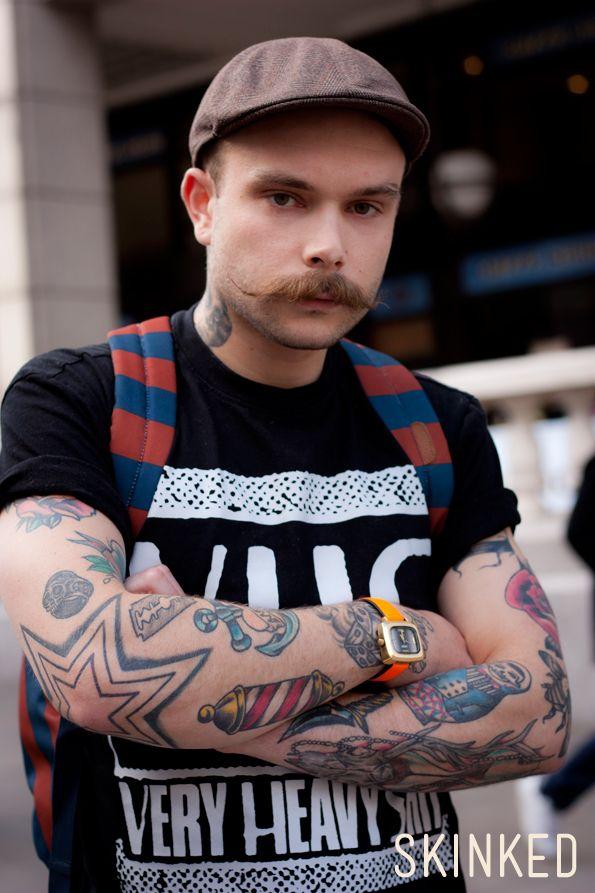 Let\'s talk old-school with Joe on SKINKED. #tattoo #tatouage ...