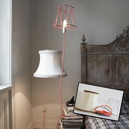 selber machen sch ne lampen wohnideen pinterest h ngelampen tischleuchte und lackieren. Black Bedroom Furniture Sets. Home Design Ideas