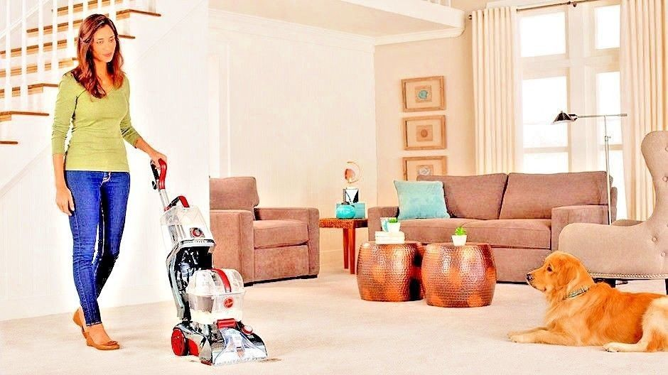 Hoover power scrub elite pet plus upright carpet cleaner