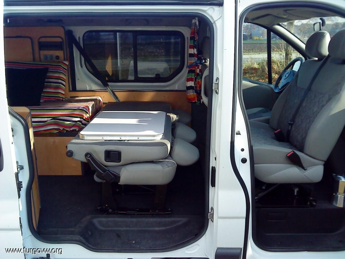 opel vivaro camper 1 9 cdti largo 6 plazas camper van. Black Bedroom Furniture Sets. Home Design Ideas