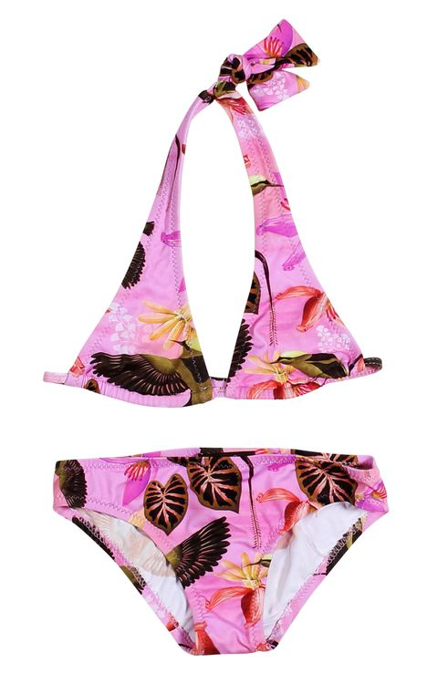 87bb5a2efc HummingBirds Bikini For Girls. Visit stella cove and shop our Hummingbird  bikinis for girls. One of our various lovely designer bikinis#Pink ...