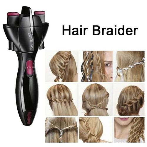 Diy Hair Twister Quick Twist Tie Artifact Braided Hair Braided