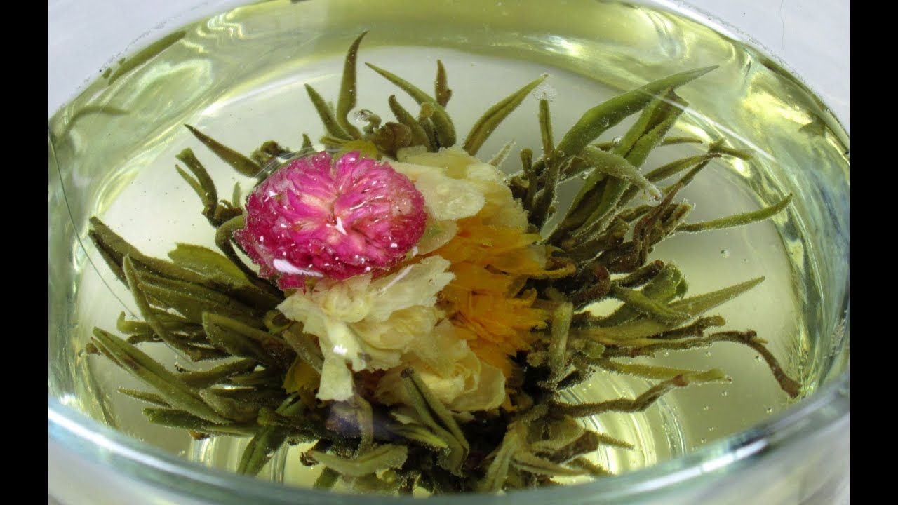 Blooming tea ball flower tea time just for fun how