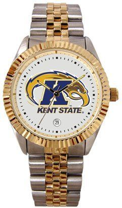 Kent State Unviersity Golden Flashes Mens Executive Stainless Steel Watch by SunTime. $149.99