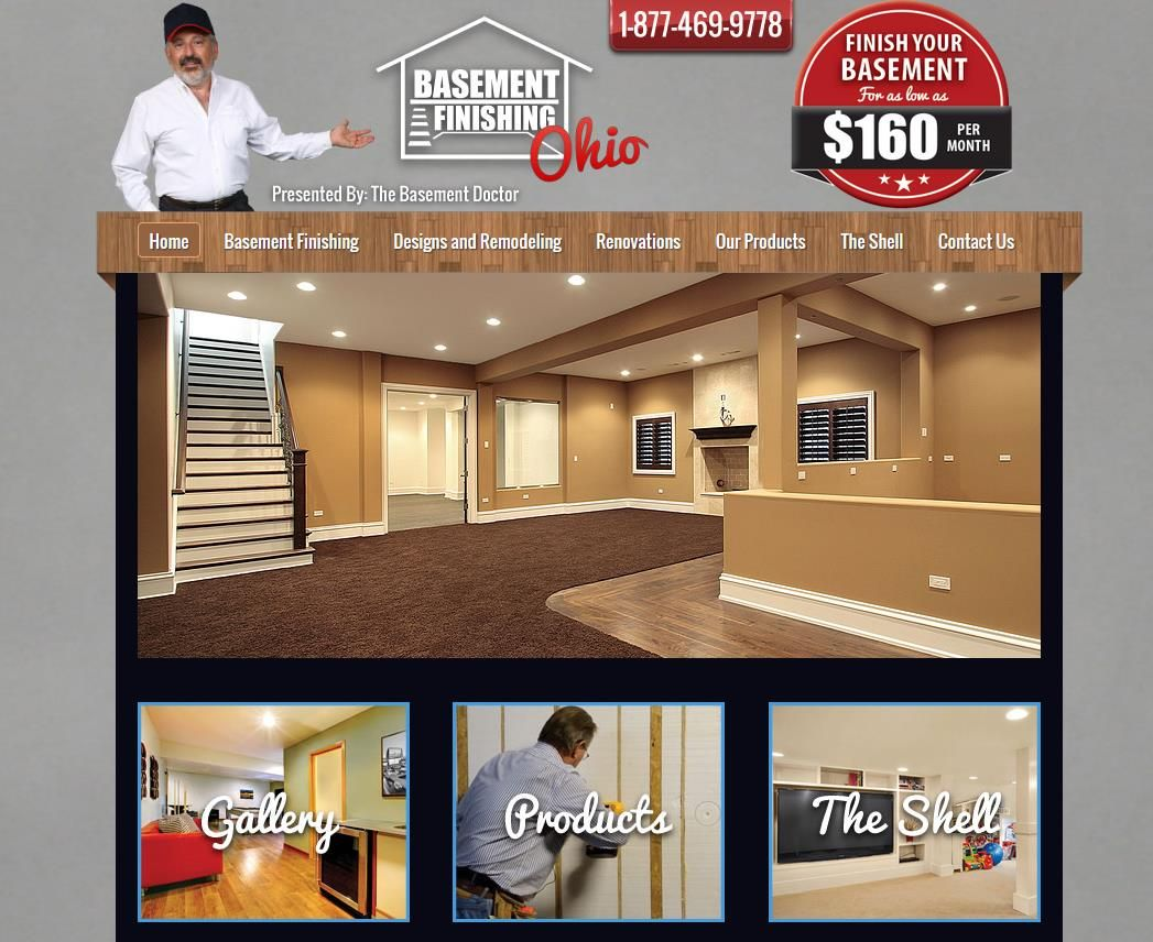 www.basementfinishingohio.com Basement Finishing services is a simple way to add value, beauty, and comfort to your home. You can use your new room for entertainment, as a family area, a game room, or so much more. We design your room according to your needs and keep your budget in mind as we create your new refuge. Our basement finishing professionals are known in Ohio for their great customer service, and their experience is evident in their work.