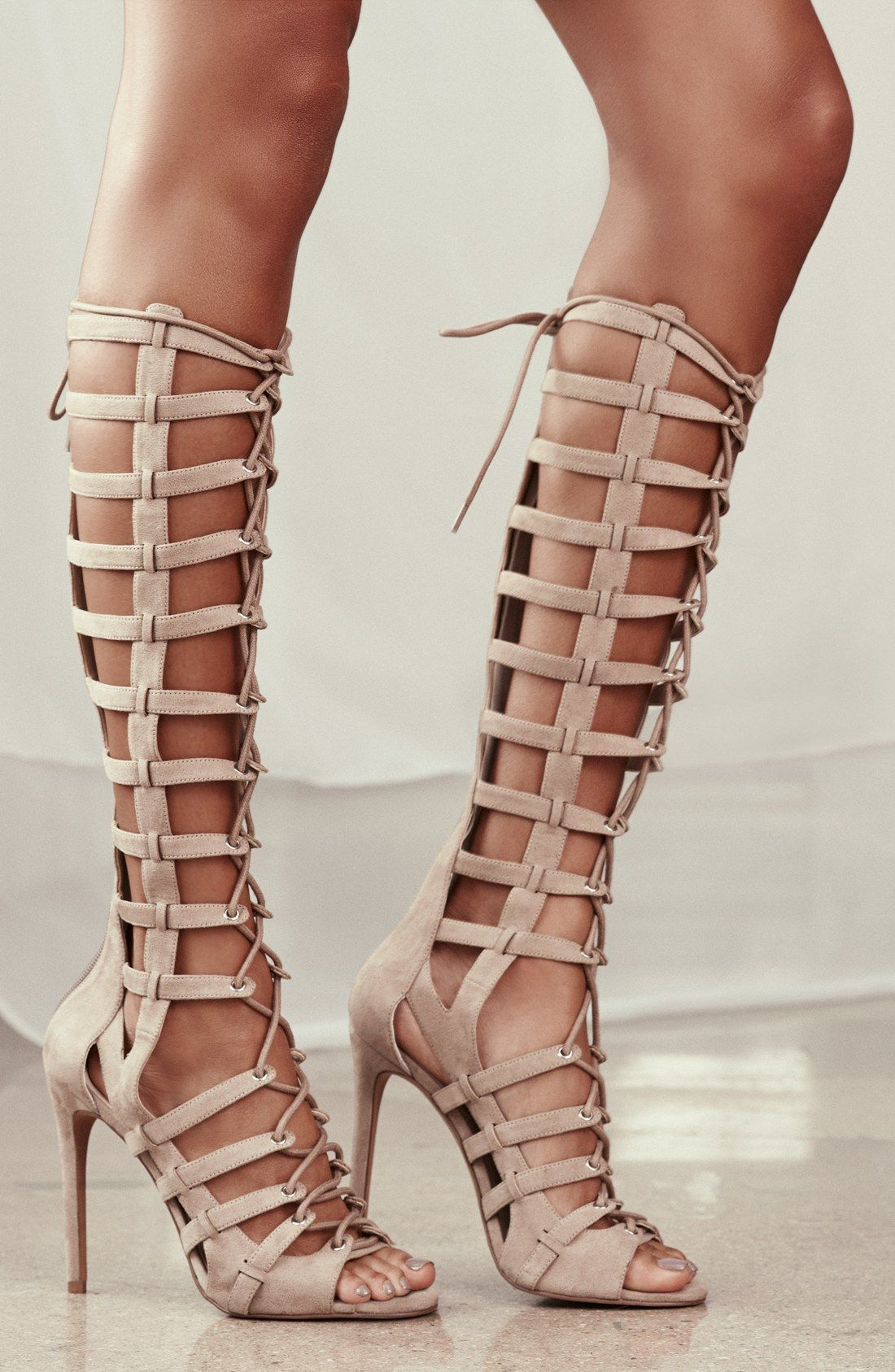 KENDALL + KYLIE 'Emily' Tall Gladiator Sandal ...
