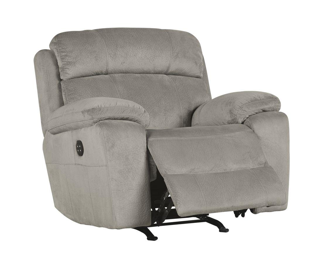Uhland Contemporary Granite Fabric Adjustable Headrest
