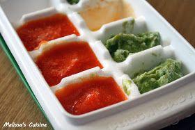 Melissa's Cuisine: Homemade Baby Food: Vegetables   Baby ...