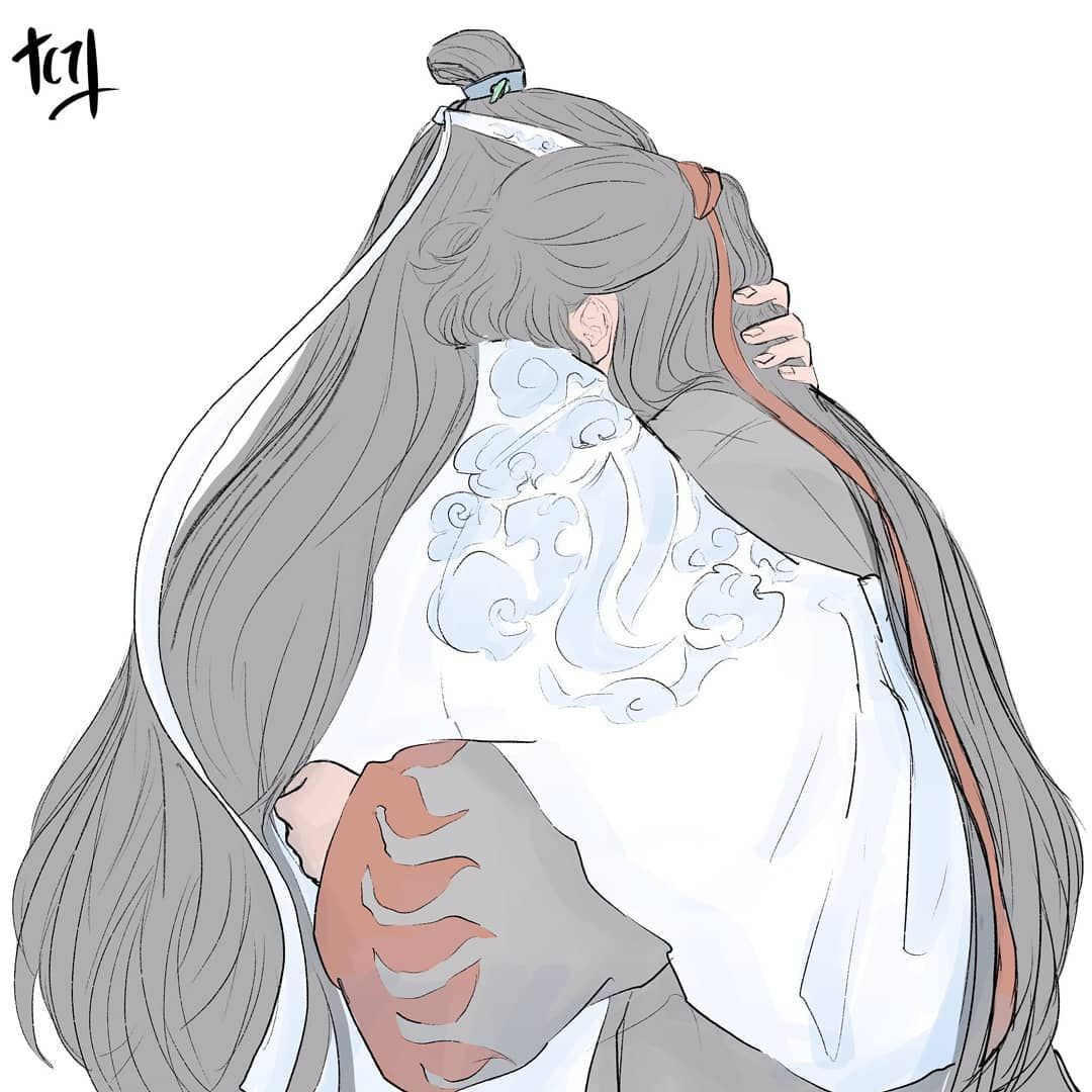 If Lan Wangji Got There Before The Bad Things Happend Artis