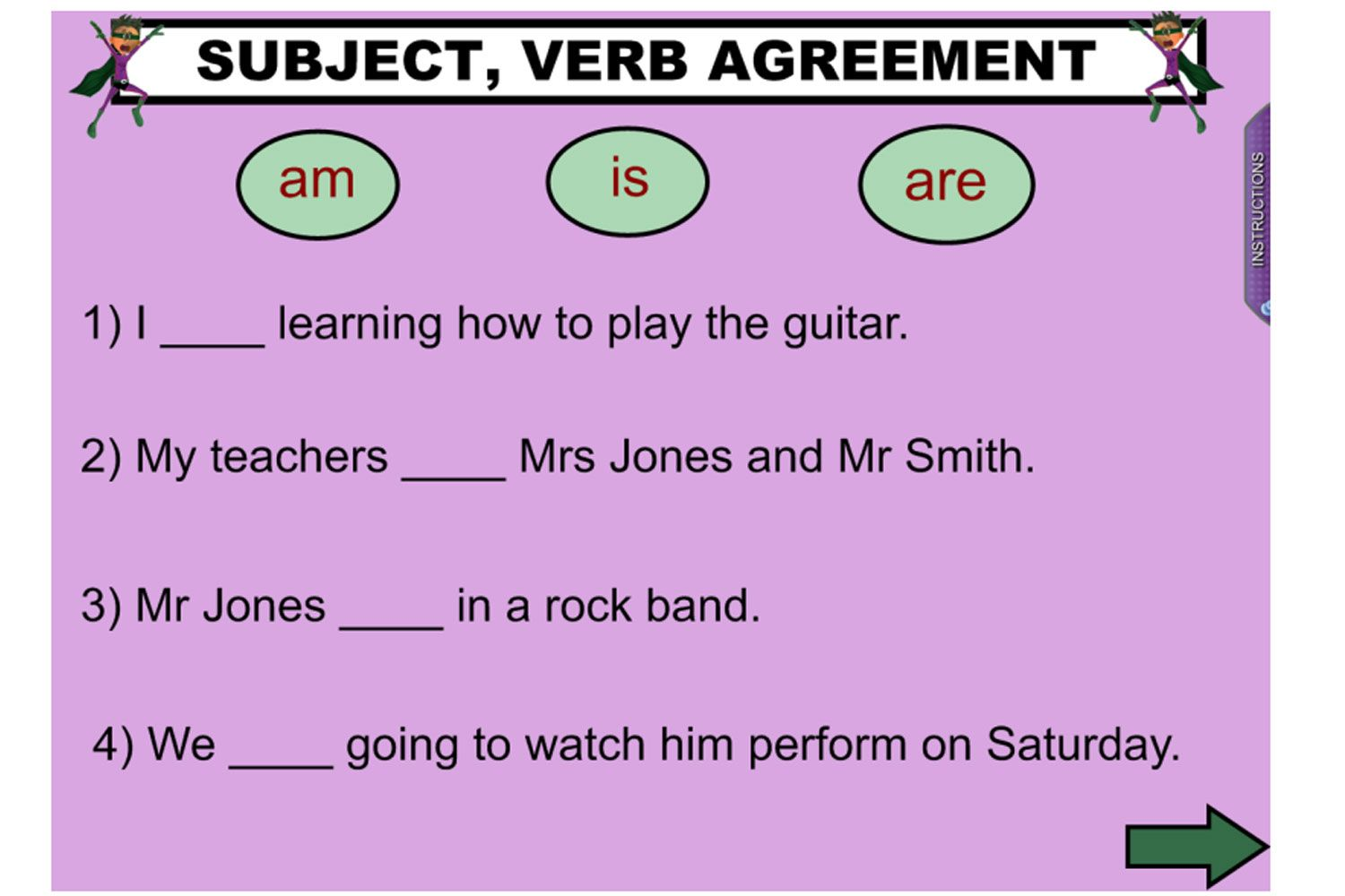 Help Your Students Understand Subject Verb Agreement With This Great Iwb Lesson Perfect For