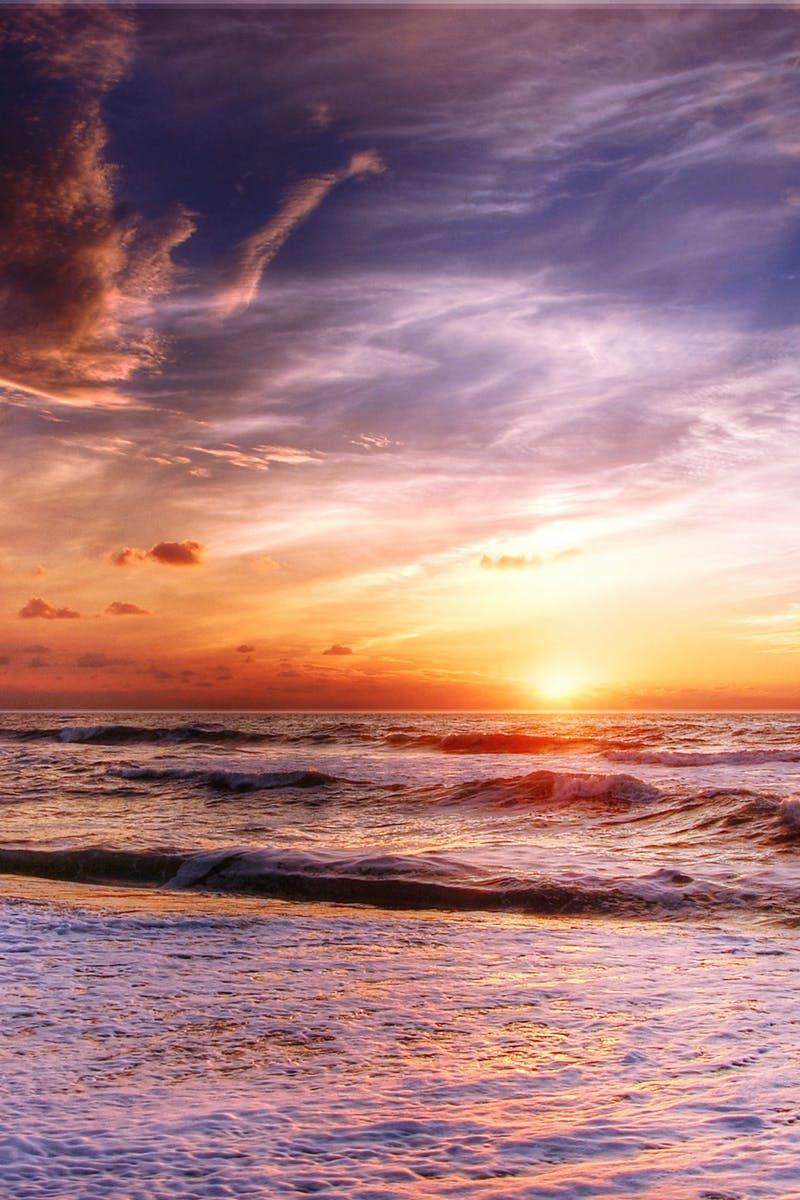 Free stock photo of sea, dawn, landscape, nature Scenery