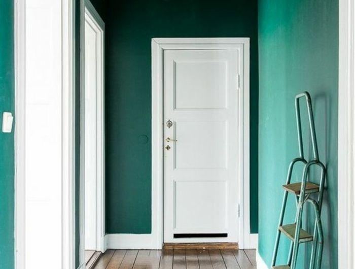 ▷ 1001+ Idées pour savoir quelle couleur pour un couloir + comment - Peindre Des Portes En Bois