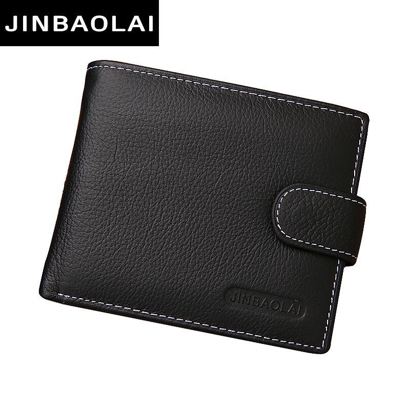 남성 지갑 정품 가죽 지갑 걸쇠 디자인 남성 지갑 동전 포켓 지갑 2016 새로운 선물 카드 홀더 carteira