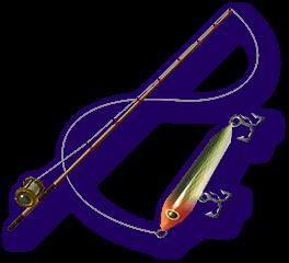 Majora S Mask 3d Fishing Rod Standard Lure Png Fishing Rod Mask Fish Mask