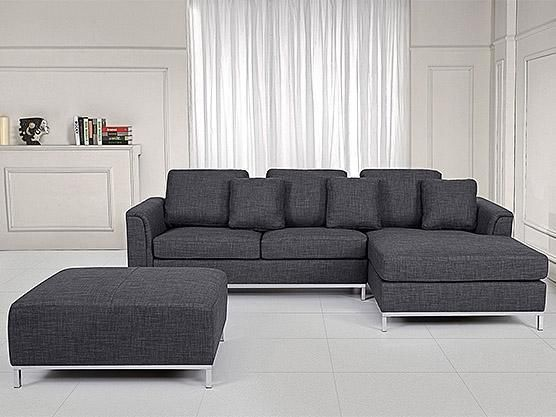 Modern Sectional Sofa L Shape Couch Upholstered Grey Couches Futons City Of To Modern Sofa Sectional Corner Sofa With Ottoman Fabric Sectional Sofas