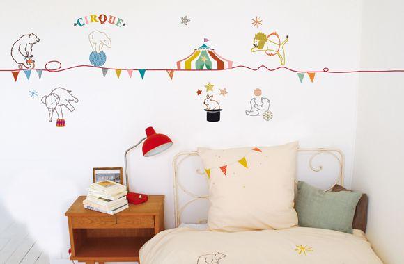 Wandbordüre Zirkus von MIMI'lou Zimmerdekoration