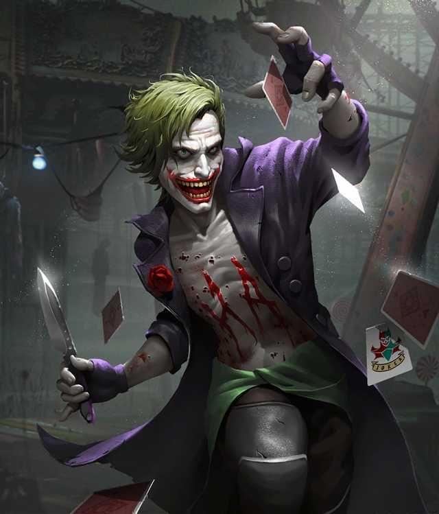 Injustice 2 Mobile Roster The Joker 그림