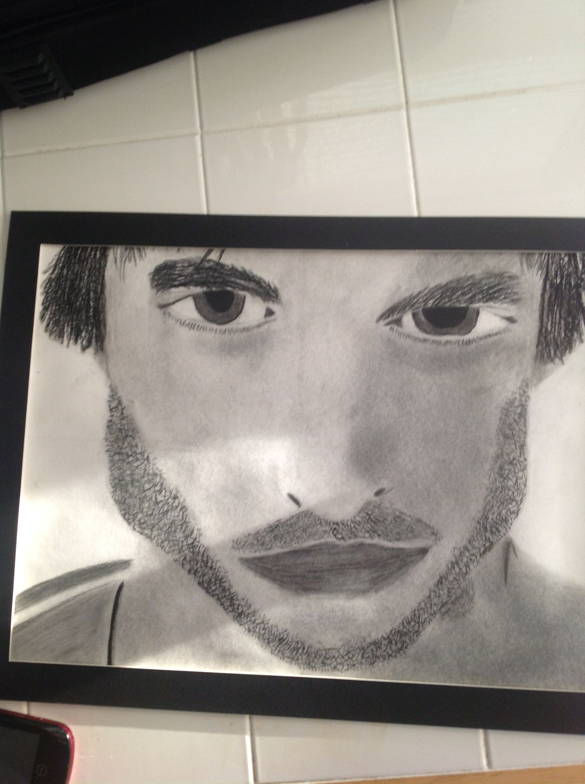 Ian Somerhalder. I drew and shaded this last semester for freshman intro to art