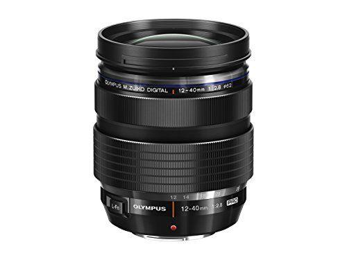 From 460 00 Olympus M Zuiko Digital Ed 12 40 Mm 1 2 8 Pro Lens Black Olympus Camera Mirrorless Camera Zoom Lens