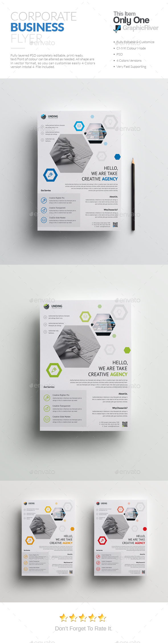 Flyer Template PSD                                                                                                                                                                                 More