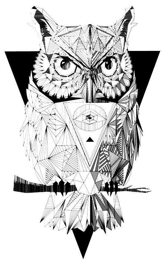 2d9a5ec2eeb3f X Fake Tattoos, Temporary Tattoos, Black And White Owl, Water Transfer,  Tattoo