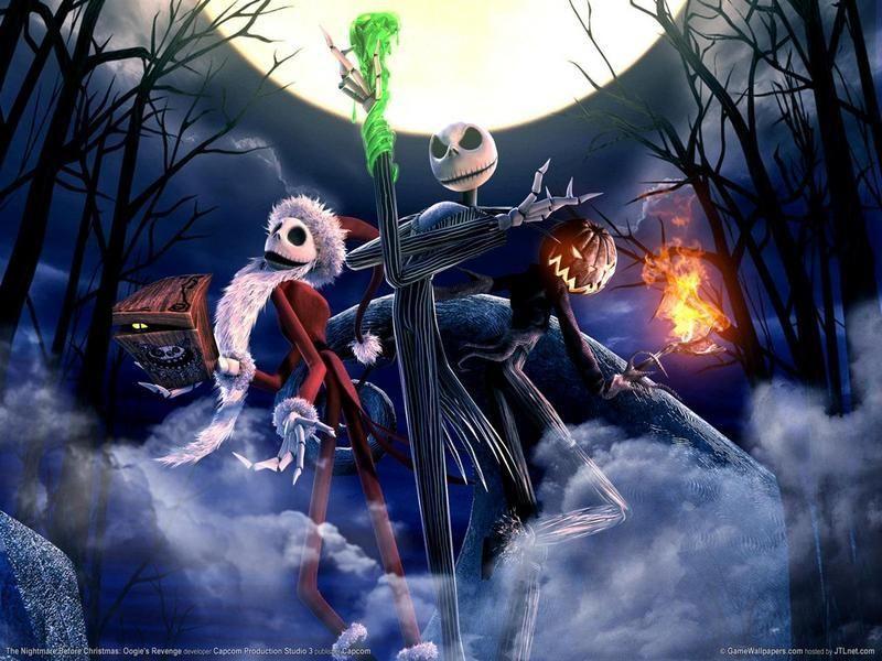 nightmare before christmas oogie's revenge frogs breath halloween