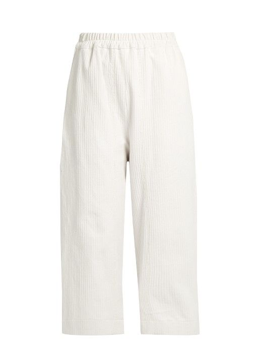 By Walid Pierre linen trousers