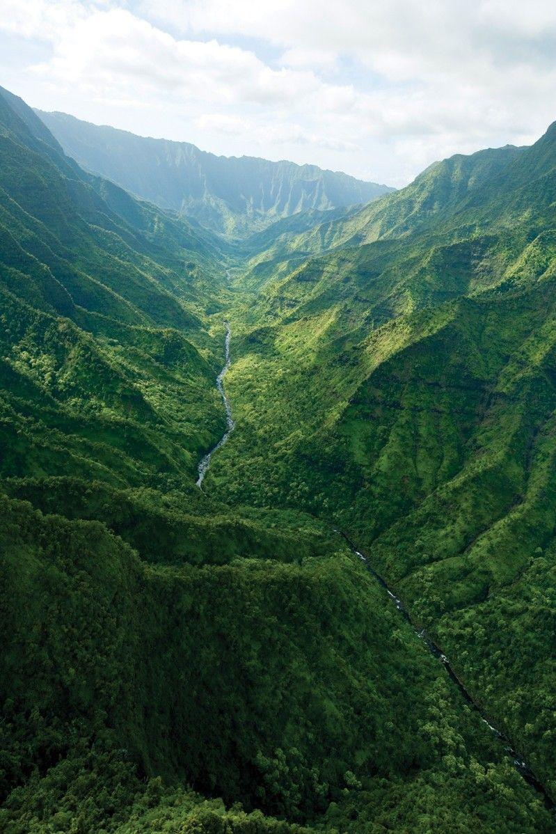 Hawaii Island Molokai   valley, a Big Island black sand beach, a sand dune system on Molokai ...