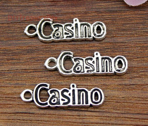 30pcsCasino Charms Antique Silver Tone Casino by DIYTreasureBox