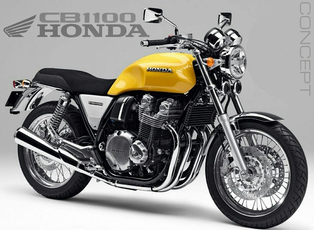 Possible 2017 Cb1100 Production Bike For The Usa Say Hello To Another Concept Motorcycle That Honda Will Have On In 2020 Honda Cb1100 Concept Motorcycles Honda Cb